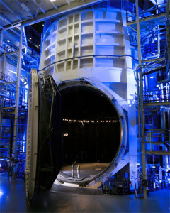 CPI upgraded the helium piping to the chamber shrouds and also built a new 16 lb vacuum jacketed manifold in the space chamber at the Johnson Space Center in Houston, TX.